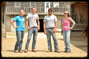 Our barn crew is confident and experienced!