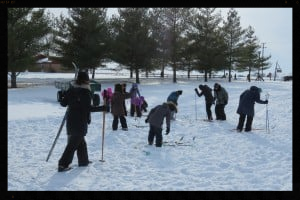 CROSS COUNTRY SKIING IS GREAT EXERCISE AND KEEPS YOU WARM!