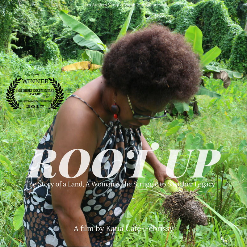 2017 | 27 min                                    Title: Root Up            Original Title: À la racine Genre: Documentary  Language: French & Creole with English subtitles           Country of Production: Guadeloupe, France Format: HD