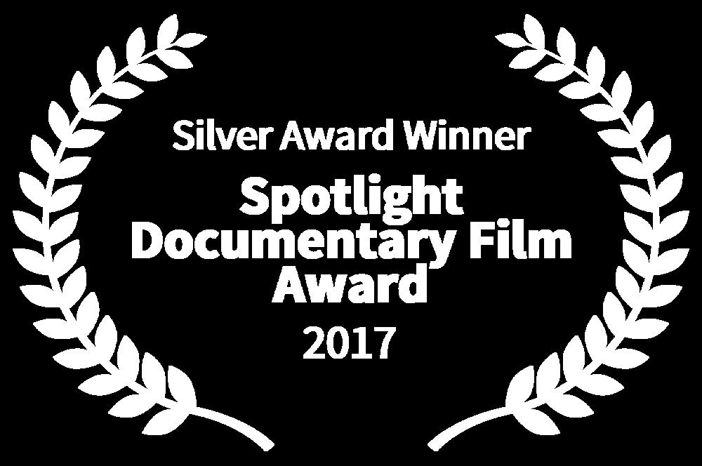 Silver Award Winner - Spotlight Documentary Film Award - 2017.png