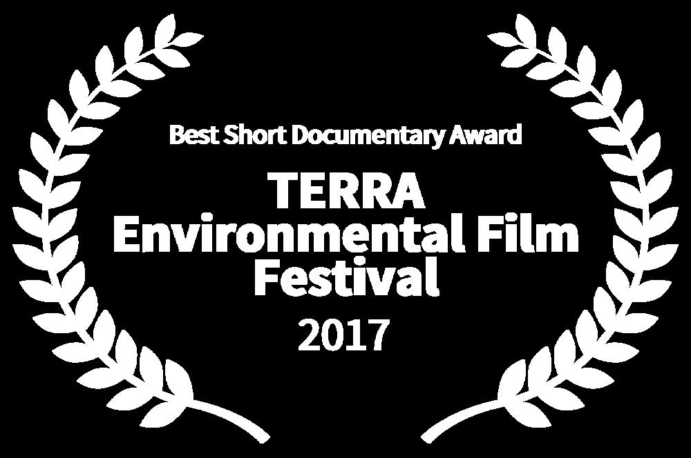 BEST SHORT DOCUMENTARY AWARD WINNER - TERRA Environmental Film Festival - 2017 copy.png