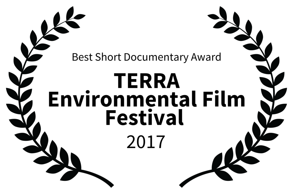 A-Best Short Documentary Award - TERRA Environmental Film Festival  - 2017_KweliTV.png