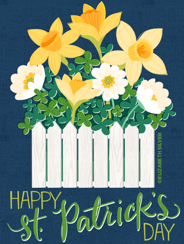St. Paddy's Greeting Card ©Elizabeth Silver