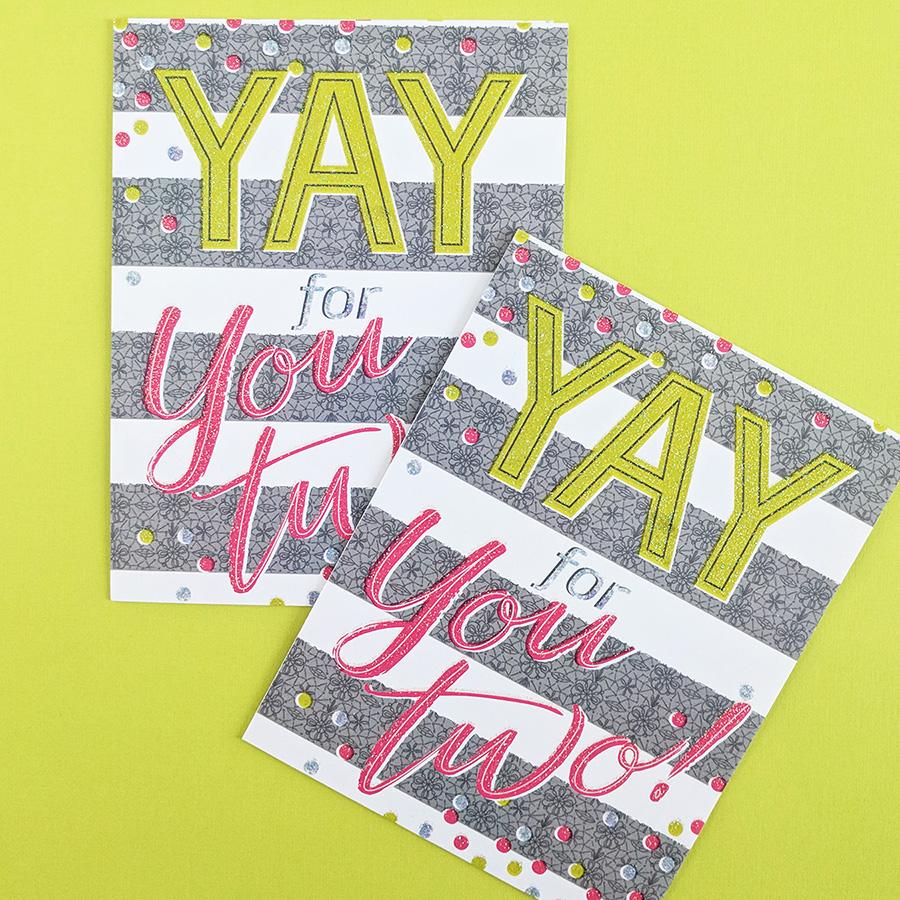 Yay Card ©Elizabeth Silver