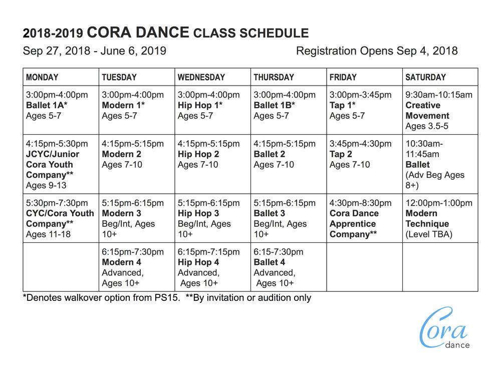 2018-2019 CORA DANCE CLASS SCHEDULE.jpg