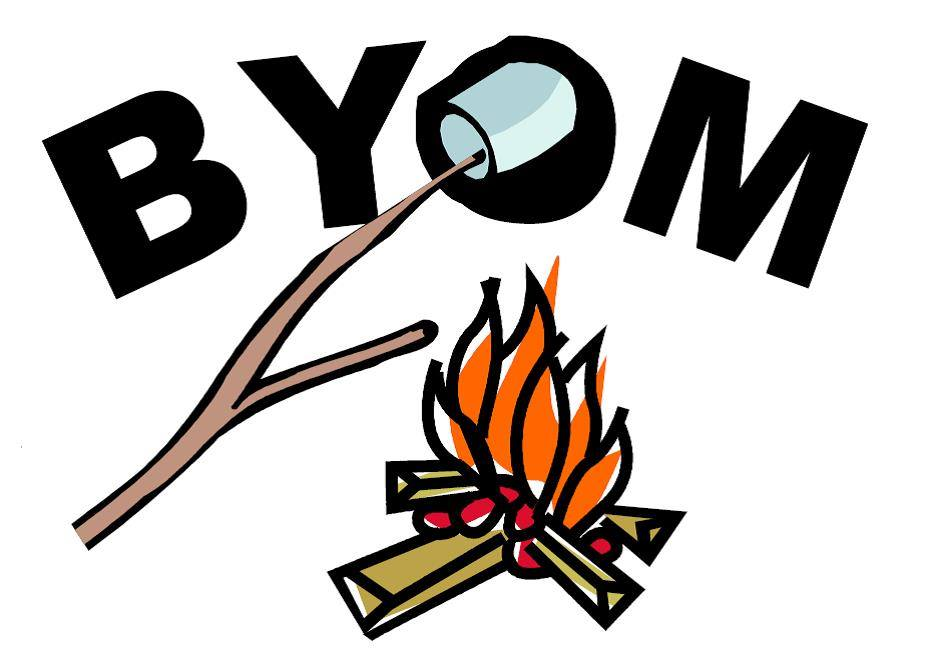Bring Your Own Marshmallows Campfire Worship 6 PM Wednesdays