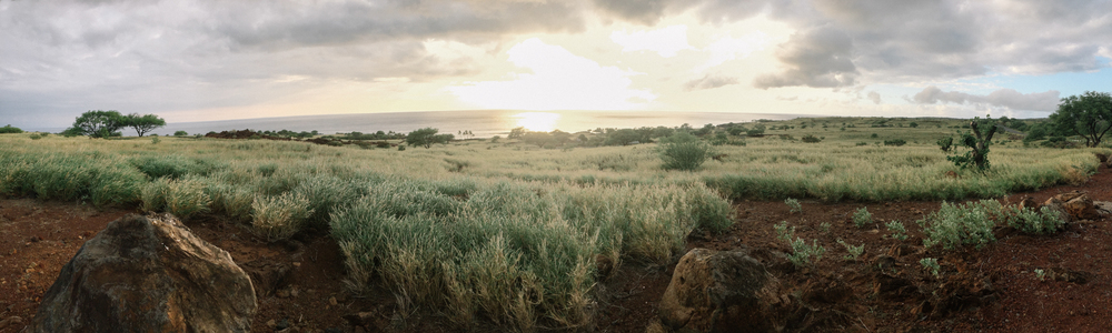 Sunset at Lapakahi.
