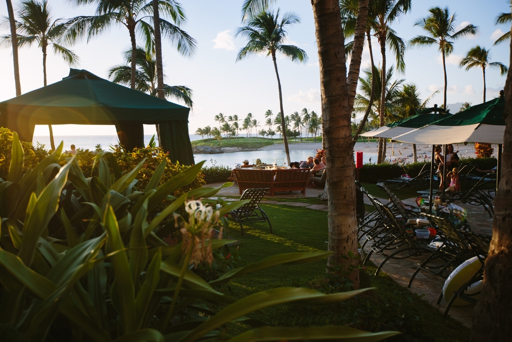 We stayed at the Marriott Ko Olina, far from the noise and crowds of Waikiki and downtown Honolulu.  It was lovely!