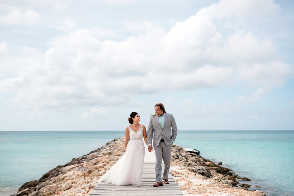 Vy & Shane   //  Palm Beach, Aruba