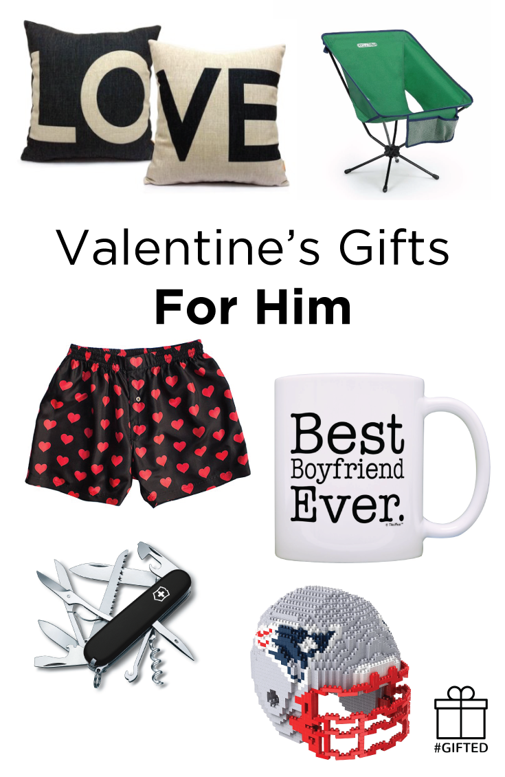 Valentine's Day Gifts for Him — #Gifted