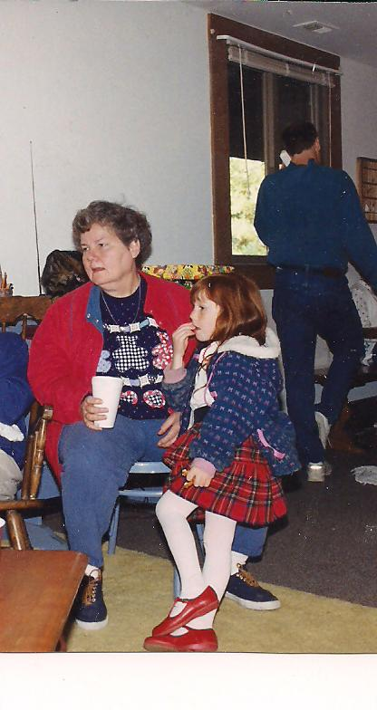 Mom and Sarah