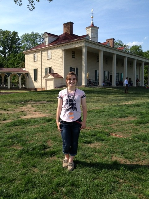 Joanne at Mt. Vernon