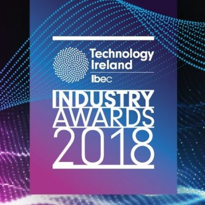 Technology Ireland Awards 2018 - Shortlisted for Best Technology Innovation of the Year