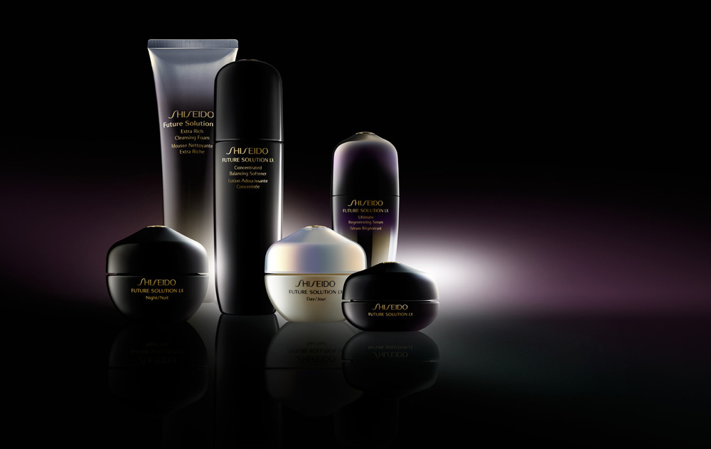 Cosmetic Photography Shiseido Products - Lux Studio
