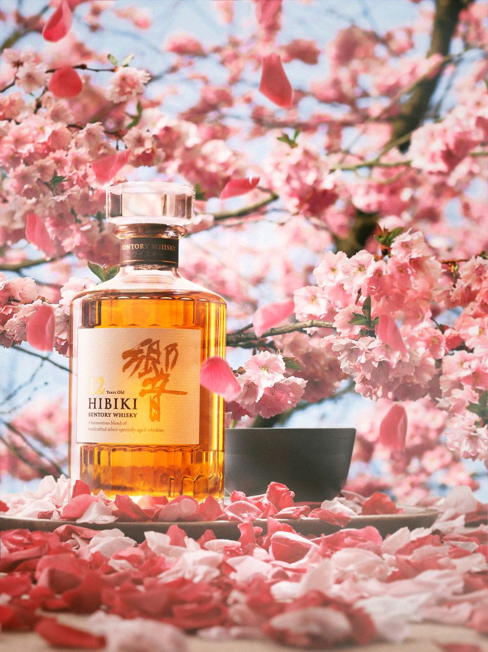 Hibiki Whisky Food and Drink Photography - Lux Studio