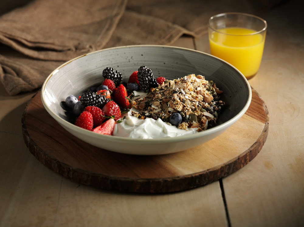 Food and Drink Photography Bowl of Cereal - Lux Studio