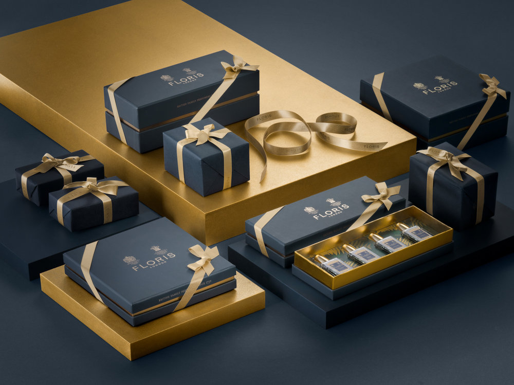 Floris London Gift Set Still Life Photography - Lux Studio