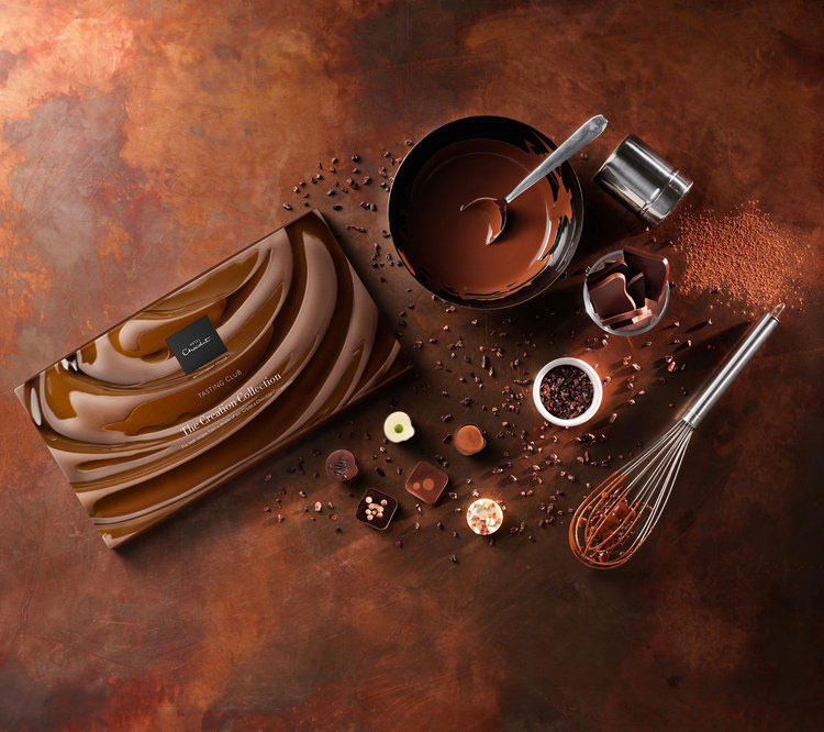Hotel Chocolat Creation Collection Food & Drink Photography - Lux Studio