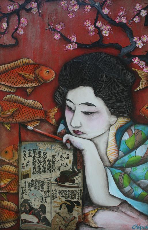Cindy Gray - Artist Reflecting on Her Past.jpg