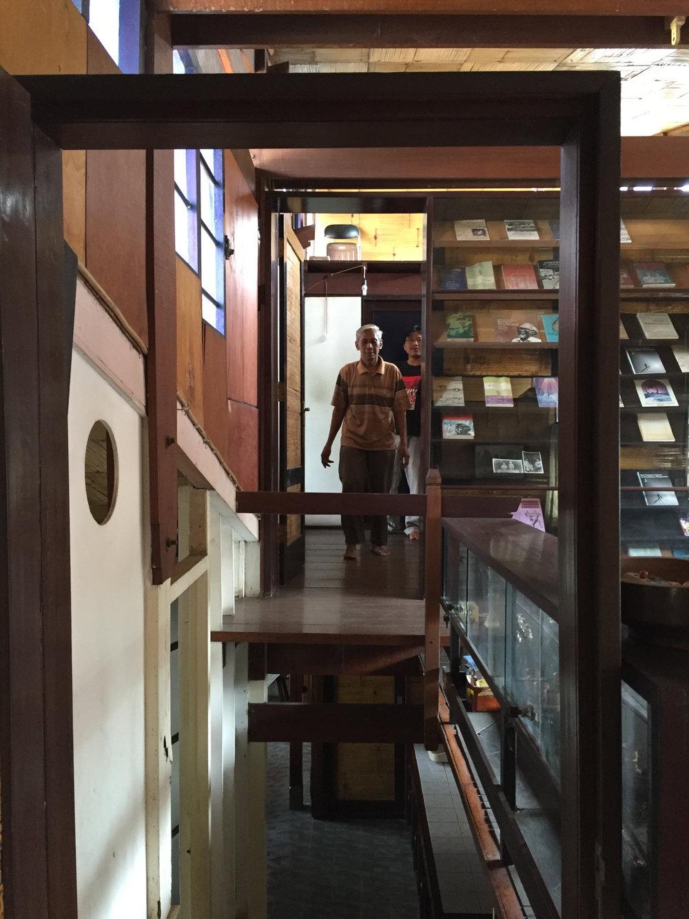 Romo Mangun home, Yogyakarta