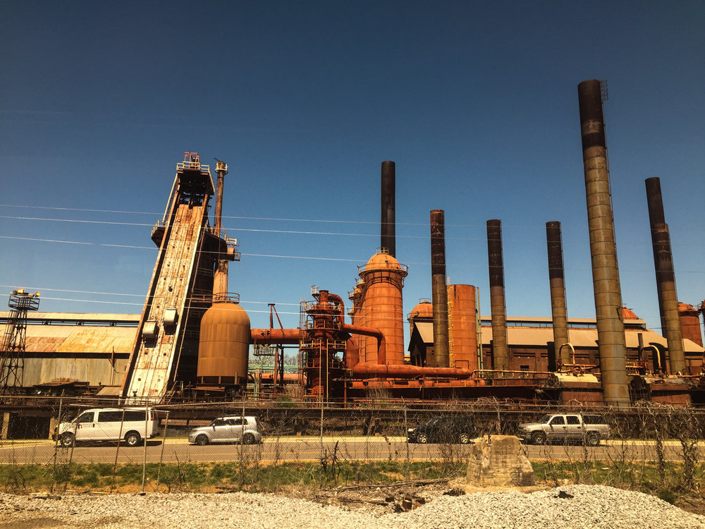 Sloss Furnaces National Historic Landmark, Birmingham, Alabama