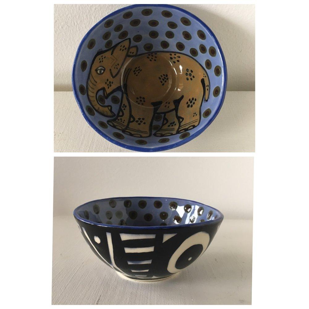 Elephant Bowl - SOLD