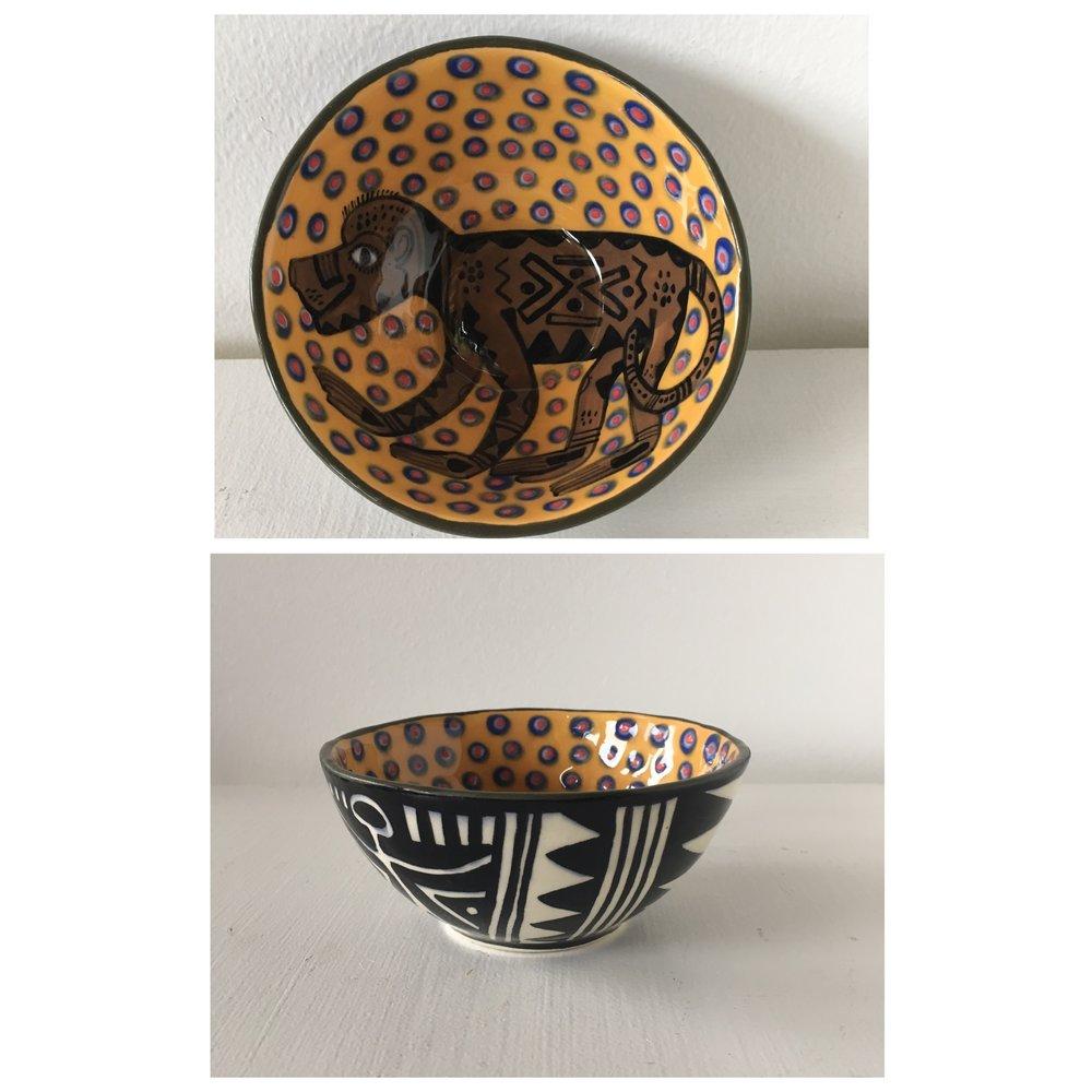 Monkey Bowl - SOLD