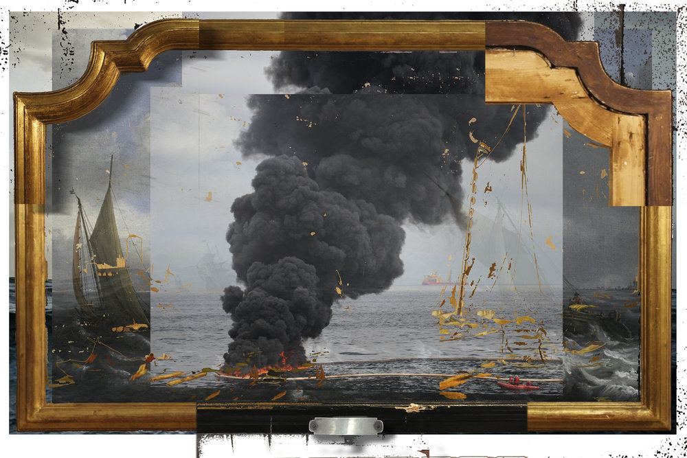 Video Frame: Oil and Water, 2018
