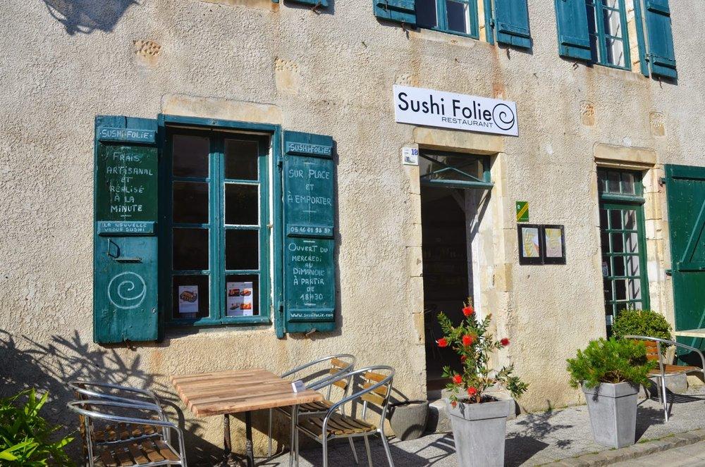 SUSHI FOLIE - La Flotte