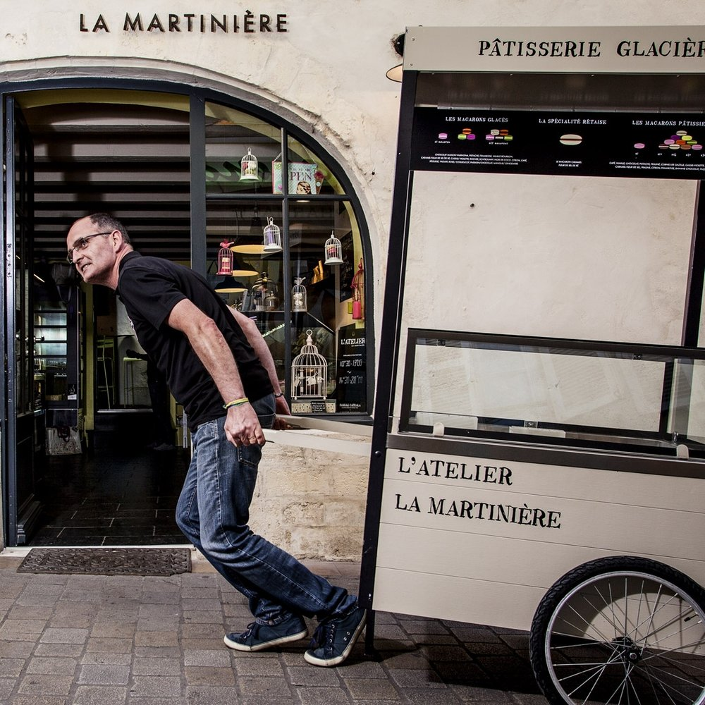 LA MARTINIERE - The best ice cream with 250 to 300 different taste, classic or crazy flavour and keep a authentic expertise.17 quai de La Poithevinière - 17 410 Saint Martin de Ré - Tél: 05 46 09 20 99