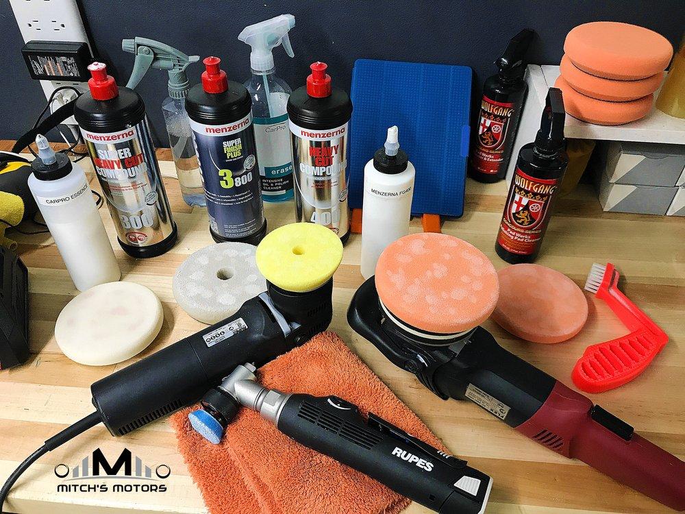 Houston detailing paint correction ceramic coating