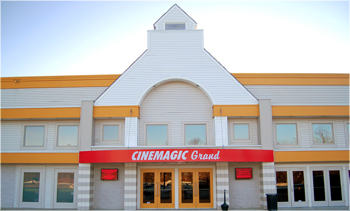 Cinemagic Grand & Bistro Clarks Pond, Maine Click to visit the website