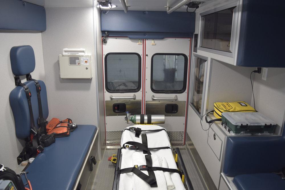 Back of an Ambulance