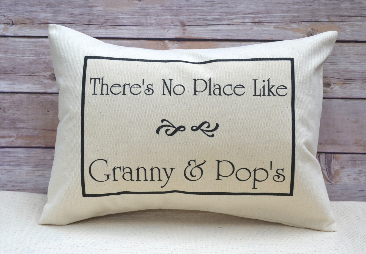 Grandparent Personalized Pillow with YOUR Grandparent Names Scroll ...