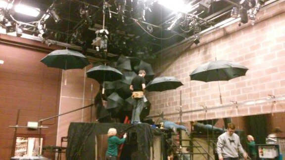 """String Room"" Umbrellas"