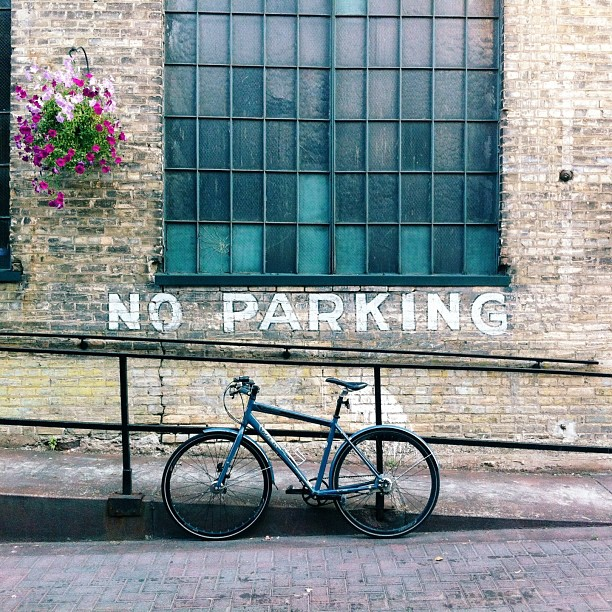 Less Parking . . . More Biking