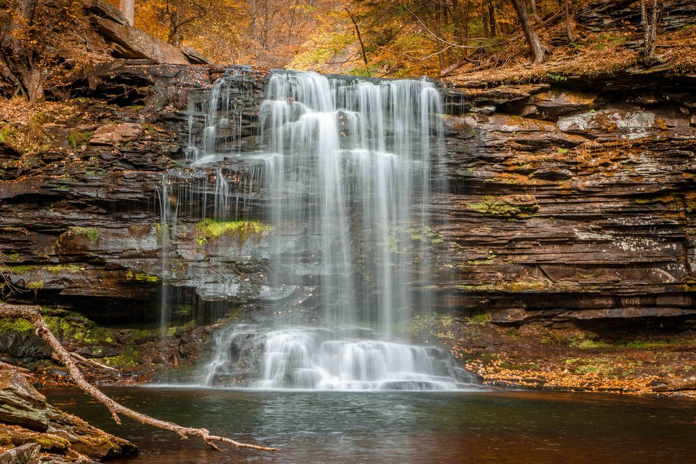 Ricketts Glen - 65mm, f/20, .3 sec., 100 ISO
