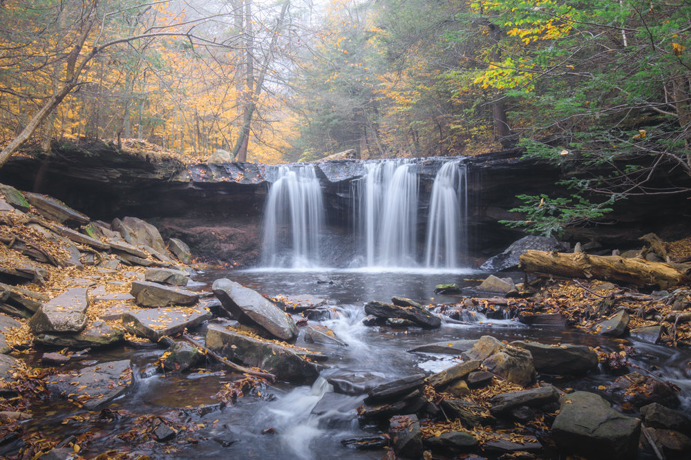 Ricketts Glen - 24mm, .f/14, .6 sec., 400 ISO