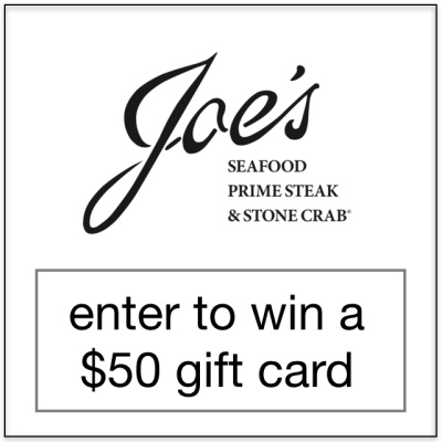 Joe's Seafood Private Events