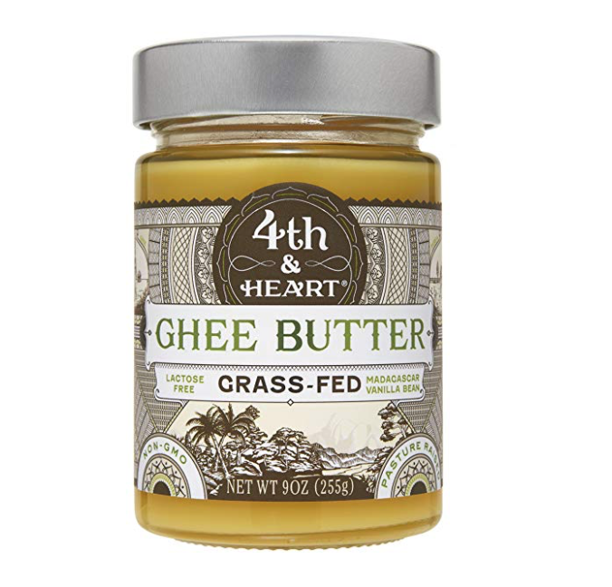 Ghee Vanilla Bean - I use just a little bit in my coffee each morning. This is a great way to add a tiny bit of healthy fats into your morning routine, with just a little hint of flavor for your coffee. (Click on Product Title for link to purchase.)