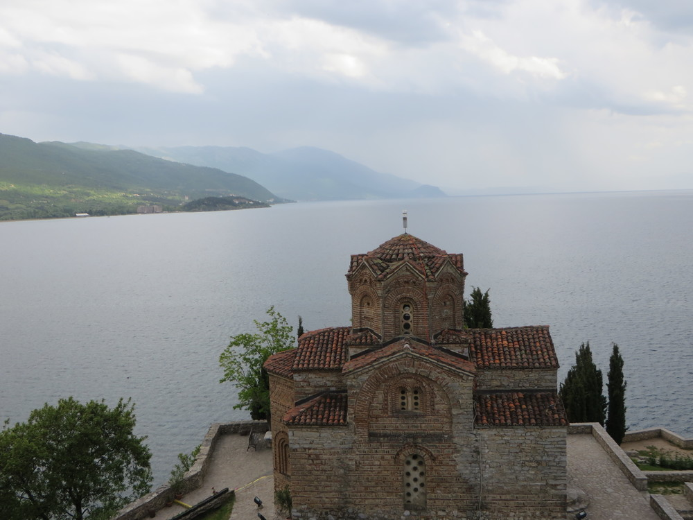 Lake Ohrid, Macedonia  - straddling the mountainous border between southeastern Macedonia and Albania is Lake Ohrid. This is one of the oldest and deepest lakes in Europe. It possesses a special magical feeling.