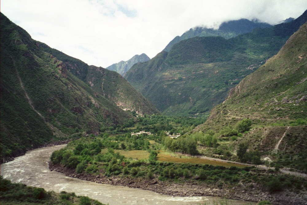 7) Badi, China - very remote hamlet in Sichuan Province. I fell in love with this place, I did not want to leave. No hotels, so knocked on doors till someone took me in, I in turn helped with their harvesting.