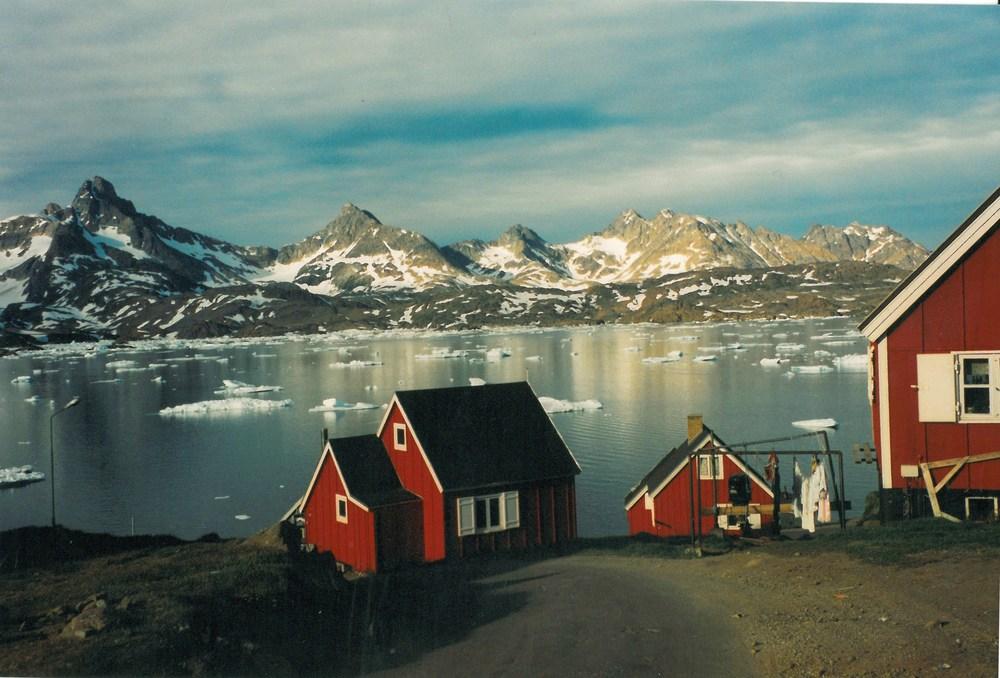 Tasiilaq, on Greenland's east coast