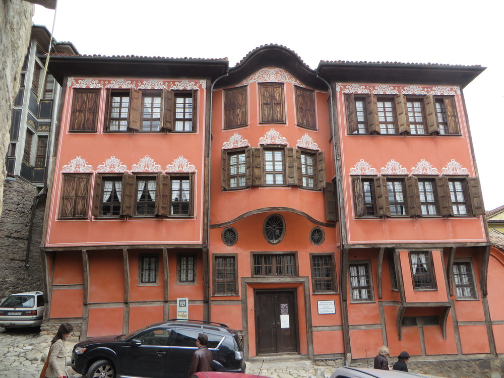 Plovdiv, Bulgaria - Bulgaria's second largest city is a charmer. The Old Town elevated on hills with a maze of narrow cobblestone streets among colorful ornate preserved buildings/houses from the 19th Century Bulgarian Revival period.