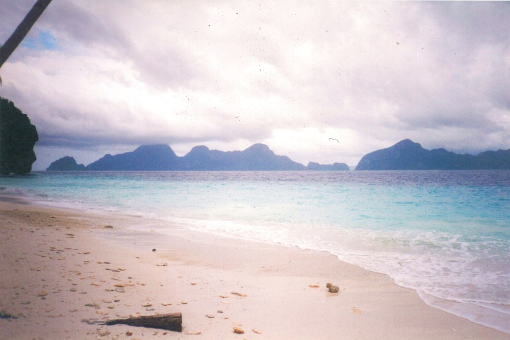 El Nido at he northern tip of the island Palawan in the Philippines