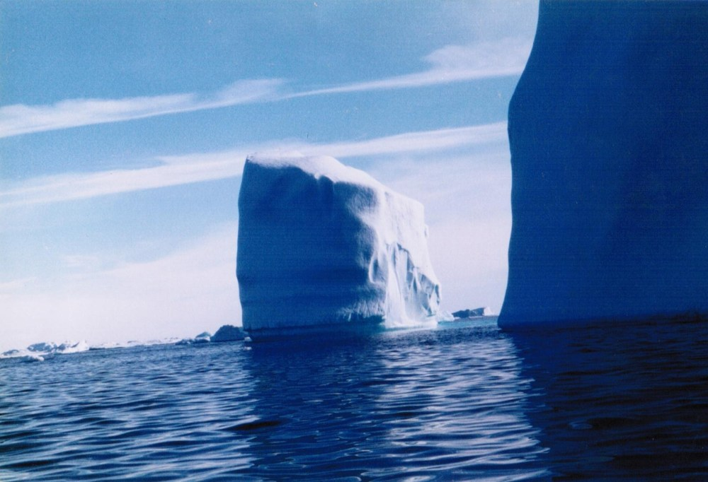 Majestic icebergs easily ten stories high, I witnessed close-up as hitched a ride from a fisherman and he drove me three hours off Kulusuk Island off East Coast of Greenland.