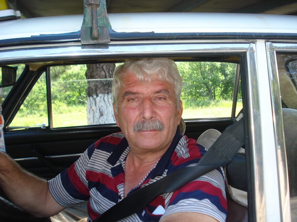 Georgian cab driver.