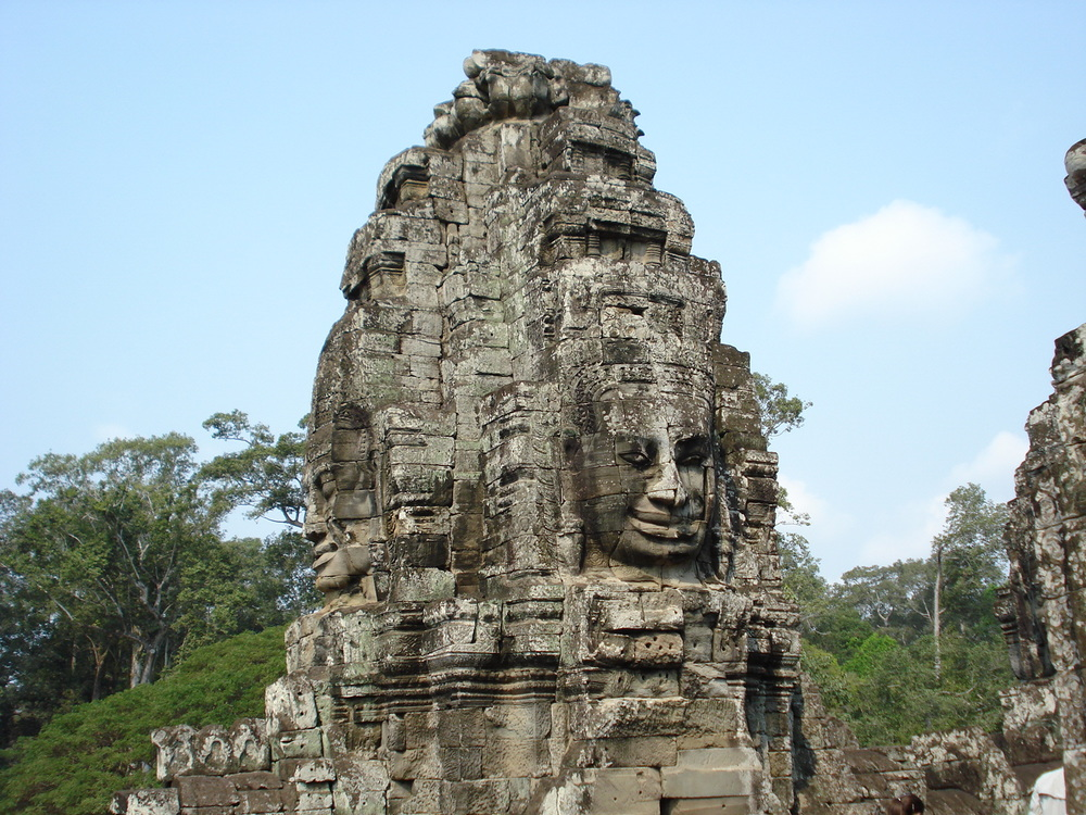 Angkor Thom (part of Angkor Wat) in Siem Reap, Cambodia.