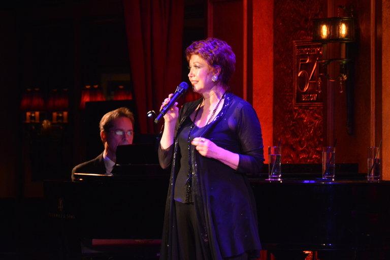Donna McKechnie in her solo cabaret.