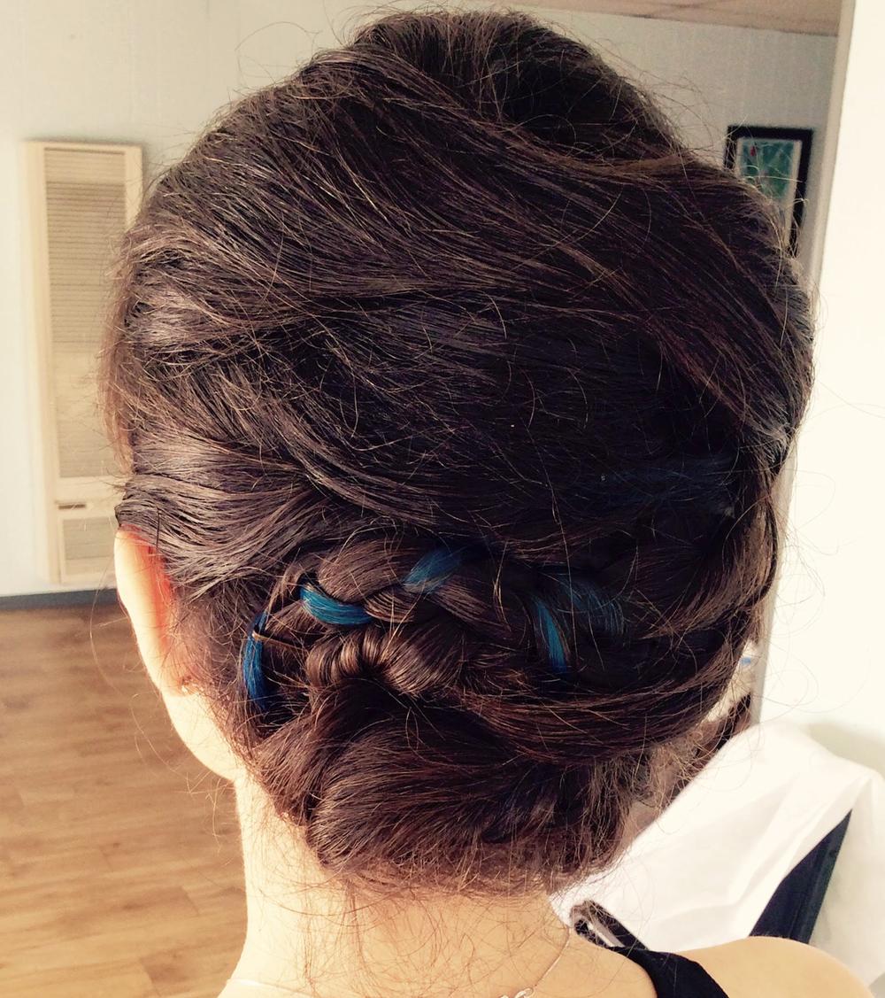Rebecca Beardsley Hair Updo